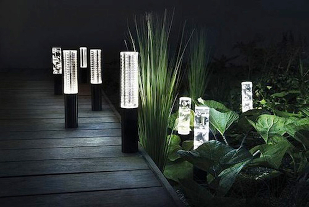 Patio lights home garden on deluxe interior lighting design - Exterior led lights for homes ...
